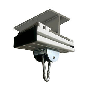 Klemmschienen-Aufhängung (ATT.MAR) für Stahlträger inkl. MARATHON Rollengelenk