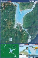 Navionics Premium HotMaps Waterproof Paper Portage Lake Folding Chart Map S5308