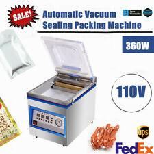 18l Commercial Vacuum Sealer 360w Food Vacuum Sealing Packing Machine 110v Usa