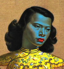 "Chinese Girl by Vladimir Tretchikoff  The Green Lady Poster 16 x 20"" HQ Replica"