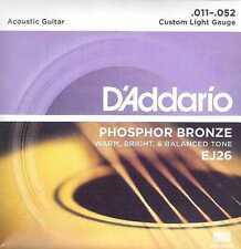 D 'addario ej26 para la guitarra acústica, 11er, i4