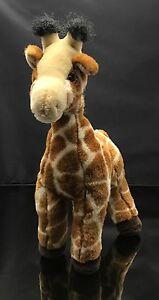 "Giraffe Standing Aurora Plush Stuffed Animal Toy 14"" Tall Excellent condition"