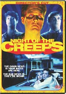 NIGHT OF THE CREEPS New Sealed DVD