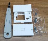 2021 BT Openreach type Master Telephone Socket NTE5 NTE 5A + IDC punch down tool