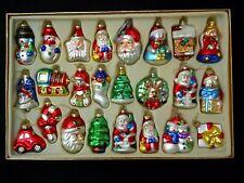 24 Ashley Cooper Holiday Magic Glass Christmas Ornaments