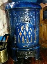 Vintage Deco DeVille Charleville Hiver French Cast Iron Coal/Wood stove SALE!