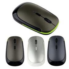 Portátil 2.4GHz 1600dpi Inalámbrico Sin cables USB óptico ratones Mouse para PC