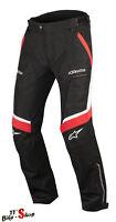 "Alpinestars ""Ramjet Air"" Motorrad-Textilhose in Größe M L XL XXL 3XL Schwarz-Rot"