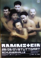 RAMMSTEIN - Originalplakat - Stuttgart/Schleyerhalle - 28.5.2001