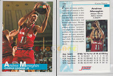 JOKER BASKET Serie A1 1994-95 - Andrea Meneghin # 109 - Ottima
