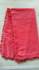 RED NEW CLASSIC SOFT WOMANS SCARF FOR ALL SEASONS