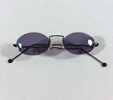 Sonnenbrille Unisex Rahmenlos Leichtes Gestell Runde Gläser Designer Luxus