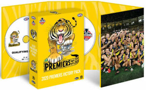 AFL 2020 Premiers Victory Pack Richmond Tigers BRAND NEW Region 4 DVD IN STOCK
