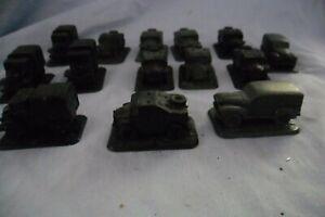 Flames of War UK Desert transport LOT 14 Vehicles inc 2 Ford V8
