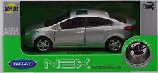 Welly Kia Cerato Silver 1:34 Die Cast Metal Model New In Box
