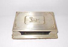 Vintage Notepad Holder Setter Dog Grammes Allentown PA Desk Note Desktop