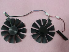 87mm ASUS Graphics Card Dual Fan Replacement with LED 4Pin T129215SU 0.50A Q07