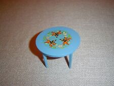 Vintage Lundby Suite Leksand Blue Dining Table