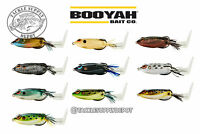 Booyah Toad Runner Frog Prop Tail Hollow Body Sprinker Style Plopper 7/8oz Pick
