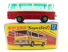 Matchbox Superfast n° 12 bus Setra Coach neuf en boite/inbox