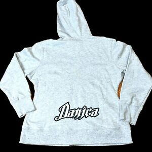 Danica Patrick #7 Speed Diva NASCAR Full Zip Hoodie Chase Authentics Size Med