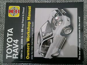 Toyota RAV4 1994-1/2006 Wartung Reparatur Anleitung Handbuch von Haynes Englisch