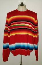 9671e64c9a POLO Ralph Lauren Red SouthWestern Beacon Cotton Knit Crewneck Sweater Men  XL
