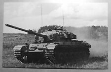 Canada Armed Forces Centurion Tank Postcard