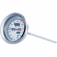 Steak Thermometer: Analoges XL Fleisch- und Braten-Thermometer