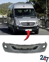 NEW MERCEDES BENZ SPRINTER 2006-2013 FRONT BUMPER WITH FOG LIGHT AND PDC HOLES
