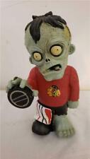 TEAM ZOMBIE NHL Chicago Blackhawks Figurine Resin Halloween Decor Figure NEW