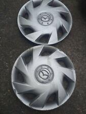 "MAZDA 13"" Wheel Trims x2"