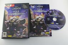 PC WARHAMMER 40000 DAWN OF WAR SOULSTORM COMPLETO PAL ESPAÑA