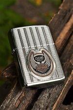 Zippo Lighter -  Harley Davidson - 105th Anniversary - Heavy Wall Armor # 24398