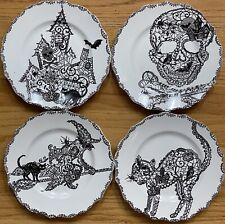 Salad Plate Black Dinnerware For Sale Ebay