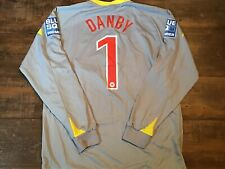 2009 2010 Chester City FC Danby Match Worn GK Football Shirt Maglia Camiseta