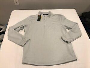 NWT $64.99 Under Armour CG Mens Storm Sweaterfleece 1/4 Zip Gray Size XL