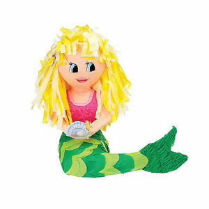 MERMAID PINATA perfect for under the sea events and parties