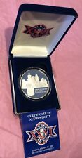 1992 NFL Super Bowl XXVI Proof Coin #270 Medal 2 Troy Oz .999 Fine Silver Round