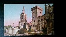 Notre Dames des Doms, Avignon France 1948 Colour Postcard