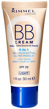 Rimmel BB Cream, Skin Perfecting Super Makeup 9 in 1 ~ shade Light. 30ml