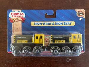 2012 Fisher Price Thomas Train Wooden Iron Arry & Iron Bert! NEW!
