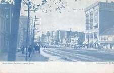 Schenectady New York State Street Below Crescent Park Antique Postcard J62436