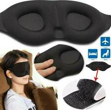 Soft Travel Sleep Eye  3D Memory Foam Padded Shade Cover Sleeping Blindfold~