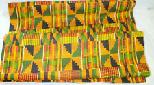 African Kente Cloth 57 x 44 Approx