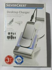 Desktop Mobile Charger - Dual USB Hub and Built in Card Reader