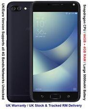 "Asus Zenfone 4 Max ZC554KL 64GB 5.5"" Screen Octa Core Android 4GB RAM 4G LTE"