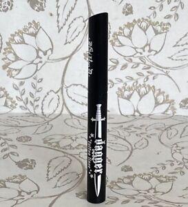 Kat Von D KVD DAGGER Tattoo Liner Liquid Eyeliner Trooper Black 0.2ml / .007 oz