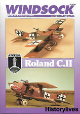 Windsock International V.14 N.4 Roland Walfisch Sopwith Spad Sikorsky Veh Turkey