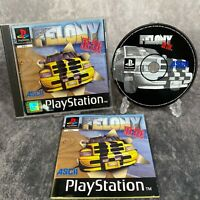 Felony 11-79 PS1 PlayStation 1 PAL Game Complete Black Label Rare Racer